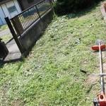 草刈機(刈払機)で草を刈る(使い方と注意点)