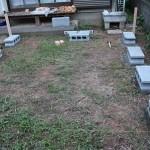 コンクリートD.I.Y. モルタルを使ってブロックを水平に設置完了~タイニーハウスの鉄骨土台作り 第6話