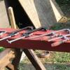 終盤戦!作業効率アップの鍵は材の固定(クランプ)だと思う。タイニーハウスの鉄骨土台作り~第18話