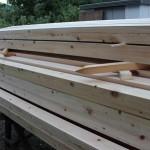 木材の刻みスタート 木の反り・むくれを調べて選定する 第1話