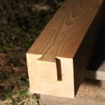 蟻ほぞに腰掛けを入れる事にした~木材(仕口・継手)の刻み 第4話