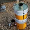 ロケットストーブを使ってみた感想~着火からお湯が沸くまでの記録