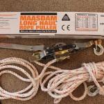 ローププーラーの使い方 (詳細写真つき・ロープのセッティングと使用上の注意点)