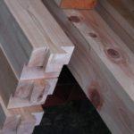 カーペンターゲージが廃番のため、中心線を出す治具(ジグ)を自作する。[木材の刻み 11話]