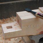 ノミ(鑿)を研ぐ~研ぎ方を勉強&実践する。木材の刻み [仕口・継手 第12話]