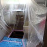 シロアリ駆除の実施レポート・写真付き~薬剤の影響・健康被害が心配。